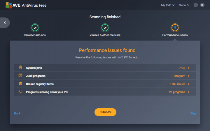 AVG AntiVirus FREE 2019 Reviews by Experts & Users - Best Reviews